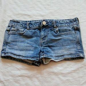 Aeropostale size 0 denim shorts